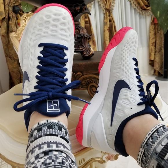 849c79a24bc Nike Air Zoom Cage 3 HC Women s Tennis Shoes. M 5adc22b99a94554ec0d2a8e5